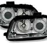 Angel Eyes  Xenon strålkastare i krom till Audi A3 8P