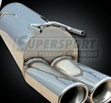 ALFA..Ljuddämpare rostfritt stål..slutljuddämpare..156