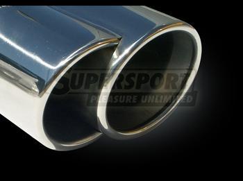 BMW..Ljuddämpare rostfritt stål..slutljuddämpare..3er IV
