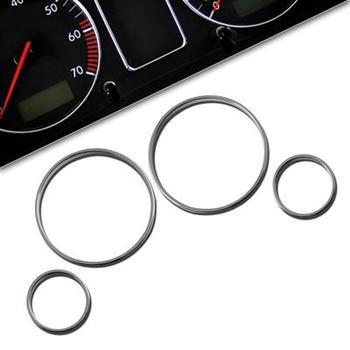 Kromade instrumentringar BMW E39