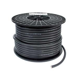 Dubbelisolerad batterikabel svart