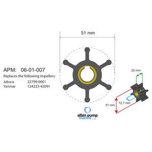 Premium Impeller kit PN 06-01-007