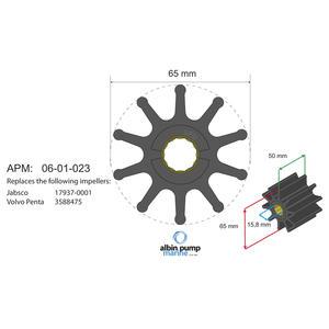 Premium Impeller PN 06-02-023