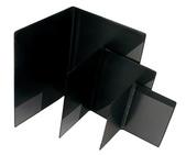 Blockomslag A4 PP svart