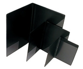 Blockomslag A6 PP svart