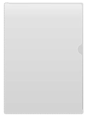 Mapp akt A4 PVC glas 0,14