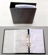 [Utgående] Pärm CD A5 pp svartmel. inkl. 10 fickor 1335500T