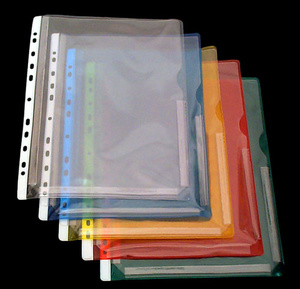 Bälg ficka nedskuren A4 PVC glas