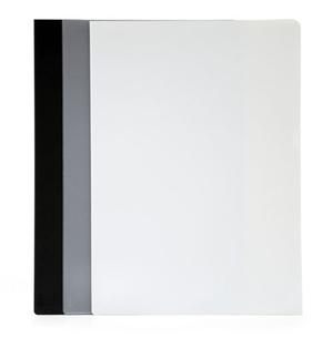 1800-mapp Style A4 i 0,35 vit pp, c:a 2 mm hög-låg utmed långisda