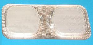 Elektrod. gel 42x42 mm, 2 par