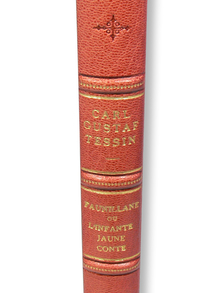 Tessin, Carl Gustaf & Lindberg, Sten G.: Faunillane. (1:) Faunillane, ou L'infante jaune, conte. (2:) Faunillane, eller Den gula infantinnan, saga. (3:) Sten G. Lindberg: Carl Gustaf Tessin och flickan från Fånö.