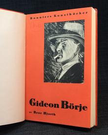 (Börje, Gideon) (1891-1965) - Bror Hjorth: Gideon Börje.