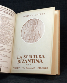 Bettini, Sergio: La scultura bizantina. 1-2.