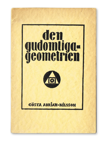 GAN / Adrian-Nilsson, Gösta: Den gudomliga geometrien. En uppsats om konst.