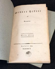 [Sjöberg, Erik], pseud. Vitalis: Senare dikter af Vitalis. 1-2.