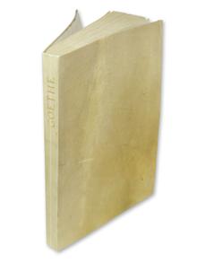 Goethe, Johann Wolfgang von: Ein Strauss. Auserlesene Lieder Gedichte und Balladen.