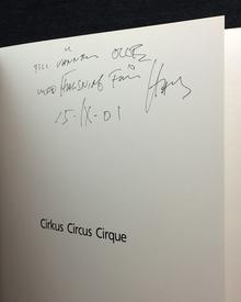 Gedda, Hans (b. 1942) (foto) & Bodil Malmsten (text): Cirkus / Circus / Cirque.