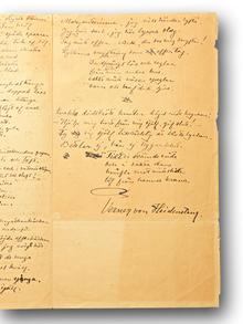 """Heidenstam, Verner von (1859-1940): """"Två dikter""""."""