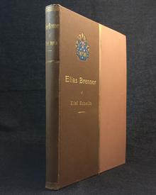 (Brenner, Elias) (1647-1717) - Eliel Aspelin: Elias Brenner. En forskare och konstnär från Karlarnes tid.