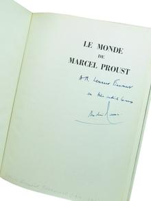 (Proust, Marcel) - Maurois, André: Le Monde de Marcel Proust. Documentation photographique Marie-Thérèse May.
