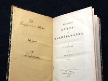 Grubbe, Samuel: Filosofisk rätts- och samhälls-lära. [...] Förra delen. (Allt som utkom.)