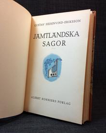 """Hedenvind-Eriksson, Gustav: Jämtländska sagor. """"Jamtristningar."""""""