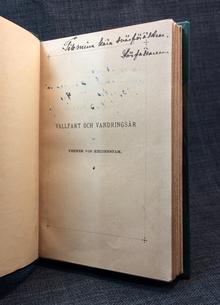 Heidenstam, Verner von: Vallfart och vandringsår. Dikter.