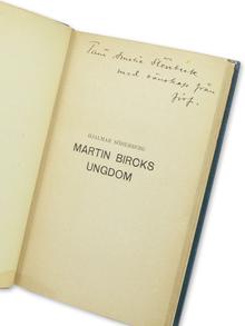 Söderberg, Hjalmar: Martin Bircks ungdom. Berättelse.