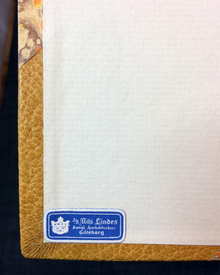 """Dickens, Charles: Pickwick-klubbens efterlämnade papper. Med originalupplagans illustrationer av Robert Seymor och Hablôt K. Browne (""""Phiz"""")."""