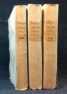 [Aurivillius, Pehr Fabian]: Catalogus librorum impressorum bibliothecæ regiæ academiæ Upsaliensis. 1:1-2, 2.