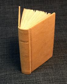 (Miniature Book) - Horatius: Quintus Horatius Flaccus.