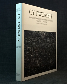 (Twombly, Cy) (1928-2011) - Heiner Bastian (ed.): Catalogue raisonné of the paintings. Volume 1. 1948-1960.