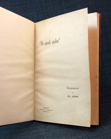 """Lindman, Chr.: """"De gamle gudar"""". Strengnäsminnen."""