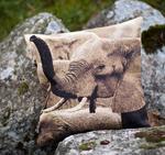 Kuddfodral 50x50cm - Elefant
