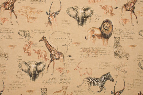 Metervara, Tyger & textilier - Safari