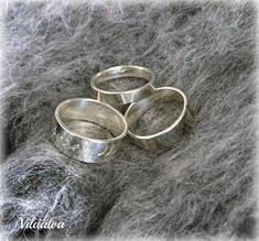 Ring silver  st 18