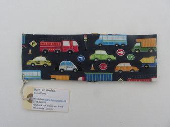 Pannband färgglada bilar