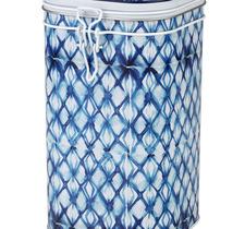 Fyrkantig teburk - Indigo blå med snäpplock 750 g