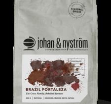 Kaffebönor Brazil Fortaleza 250g - Johan & Nyström