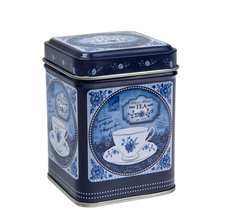 Blå teburk - Romance 50g