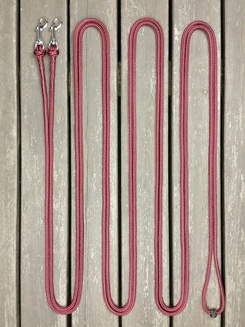 Long loop reins with removable snaps - 6 mm