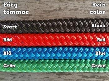 Long loop reins with rope connectors - 10 mm