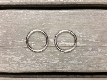 25 mm metal ring