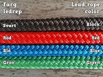 Ledrep med repfäste och ändsplits - 10 mm