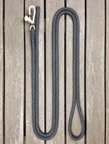 Lead rope with rope connector and back splice - 14 mm