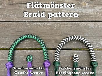 Braided standard rope halter
