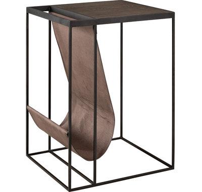 MAGAZINE BLACK Side / Bedside table