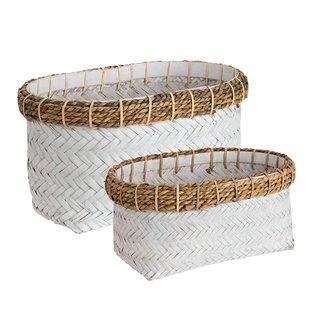 DAVAO 2-set Rectangular Basket