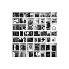 BOOK CASE MUSIC WHITE GN843