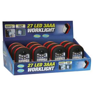 LED ficklampa 24+3 LED